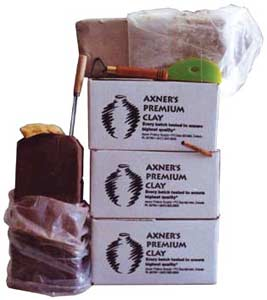 Boxes of Axner Premium Clay