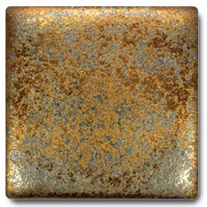 Spectrum 1114 Metallic Gold Rain Cone 5 6 Glaze