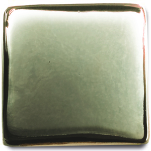 Spectrum 153 Green Mirror Low Fire Metallic Glaze