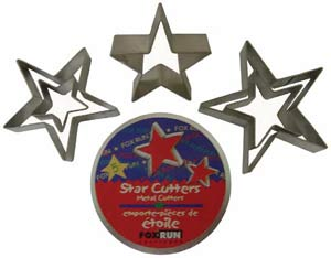 Star Cookie Cutters (Set of 5)