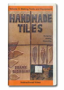 Handmade Tiles Volume 3: Making Tools and Equipment (VHS)