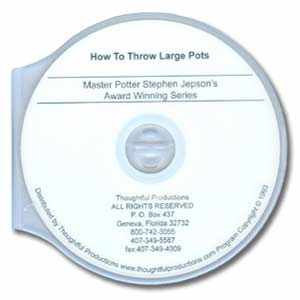 Jepson: How to Throw Large Pots (DVD)