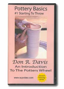 Pottery Basics #1: Starting to Throw (VHS)