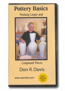 Pottery Basics #3: Working Larger and Compound Pieces (VHS)