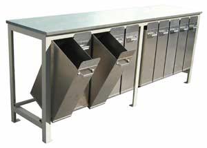 Axner Glaze Formulating Work Bench Model F 9624