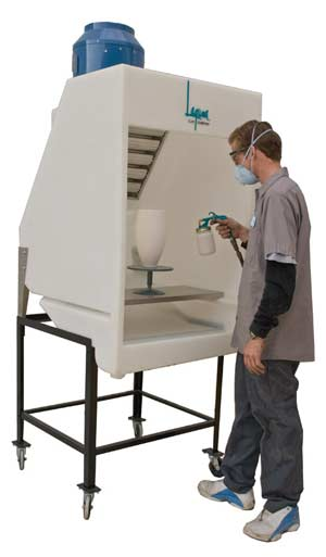 Laguna Pro X Spray Booth Package