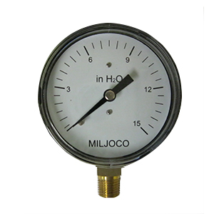 Water Column Gas Gauge