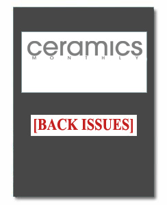 Ceramics Monthly Back Issue